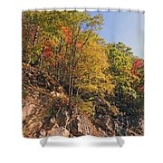 Smoky Mountain Autumn Shower Curtain
