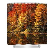 Smoky Mountain Colors - 234 Shower Curtain