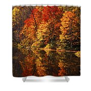 Smoky Mountain Colors - 235 Shower Curtain