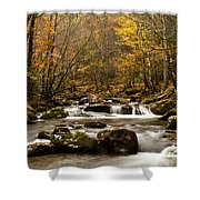 Smoky Mountain Gold II Shower Curtain