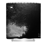 Smoky Mountain Road Shower Curtain