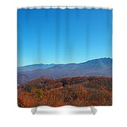 Smoky Mountains 2 Shower Curtain
