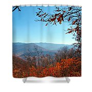 Smoky Mountains 3 Shower Curtain