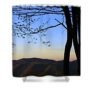 Smoky Mountains At Dusk Shower Curtain