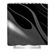 Smooth Lines2 Shower Curtain