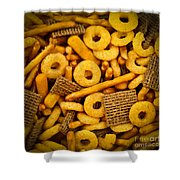 Snacks Shower Curtain by Elena Elisseeva