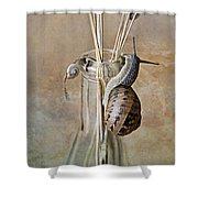 Snails Shower Curtain