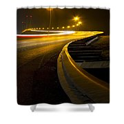 Snake Lights Shower Curtain