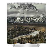 Snake River - Tetons Shower Curtain