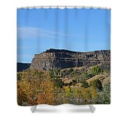 Snake River Canyon At Twin Falls Shower Curtain