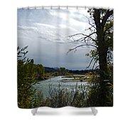 Snake River Shower Curtain
