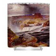 Snake River Idaho 1876 Shower Curtain