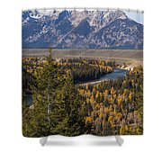 Snake River Overlook One Shower Curtain