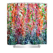 Snapdragons II Shower Curtain