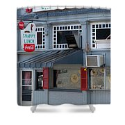 Snappy Lunch Mt. Airy Nc Shower Curtain