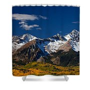 Sneffels Clearing  Shower Curtain
