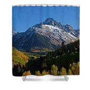 Sneffels Panorama Shower Curtain