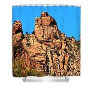 Snoopy Rock - Sabino Canyon Tucson Arizona  Shower Curtain