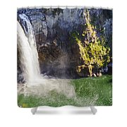 Snoqualime Falls And Pool Shower Curtain