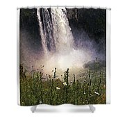 Snoqualmie Falls Wa. Shower Curtain