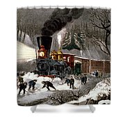 Snow Bound Shower Curtain