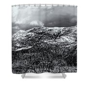 Snow Capped 45 Shower Curtain