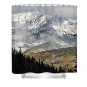 Snow Capped Beauty Shower Curtain