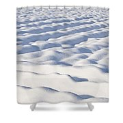 Snow  Shower Curtain