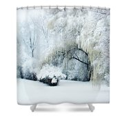 Snow Dream Shower Curtain