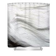 Snow Drift 02 Shower Curtain