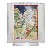 Snow Fairy Shower Curtain