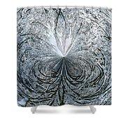 Snow Globe Shower Curtain