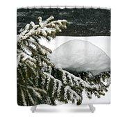 Snow Hill Shower Curtain