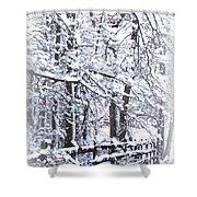 Snow-img-2174-merry Christmas Shower Curtain