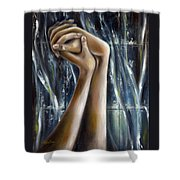 Snow Light Shower Curtain