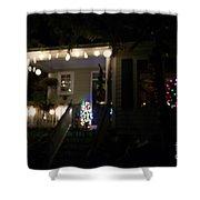 Snow Lights Shower Curtain