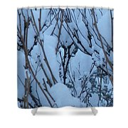 Snow Load Shower Curtain