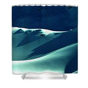 Snow Mountain In Austria  Shower Curtain by Colette V Hera  Guggenheim