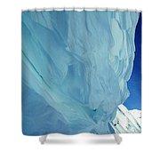Snow Naturel Formation Kappl  Austria Shower Curtain