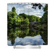 Snowdonia Summer On The River Shower Curtain