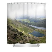 Snowdonia Wales Shower Curtain