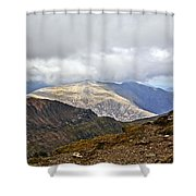 Snowdonian Splendor Shower Curtain