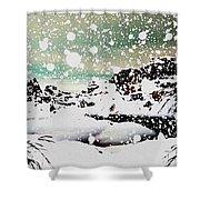 Snowfall Shower Curtain