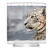 Snowie Shower Curtain