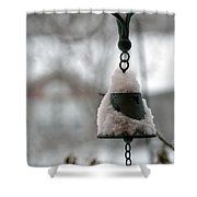 Snowy Bell Shower Curtain