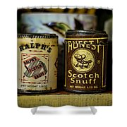Snuff Tins Shower Curtain