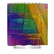 Snyders Garage Shower Curtain