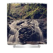 So Easy To Fall Shower Curtain by Laurie Search