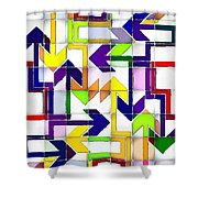 So Many Choices So Little Time Shower Curtain