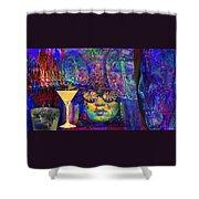 Studio 54 Tribute New York Shower Curtain